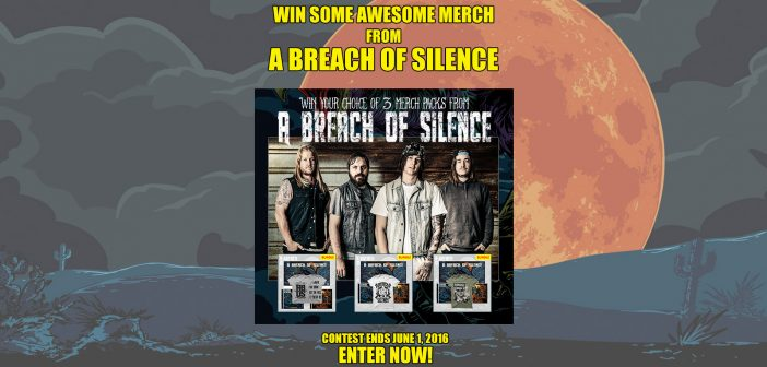 Win A Breach of Silence merch
