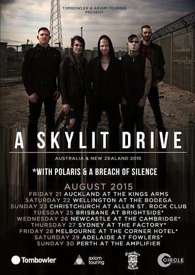A Breach of Silence tour w/ A Skylit Drive