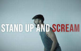 April 21st Stand Up and Scream music video