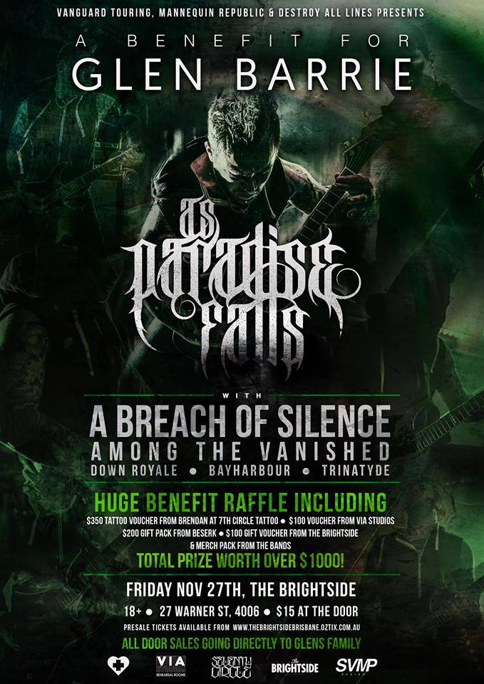 As Paradise Falls benefit show