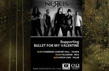 Bullet For My Valentine Nereis Baltic 2019 Tour