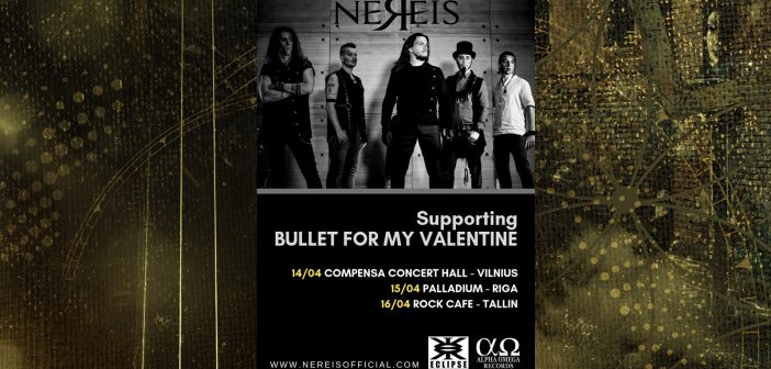Bullet For My Valentine Nereis Baltic 2019 Tour