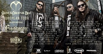 Genus Ordinis Dei Evergrey Europe Tour 2019