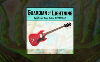 Guardian Of Lightning - Epiphone EB-0 Bass giveaway