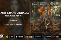 Turning To Ashes by Hearts & Hand Grenades is out now!