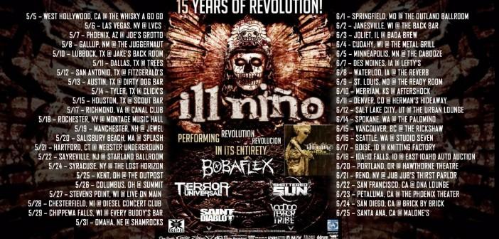 Ill Nino Saint Diablo 15 Years Revolution