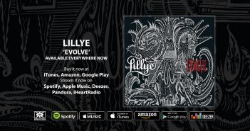Evolve by Lillye out now!
