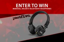 Past Five - Marshall IV Headphones giveaway