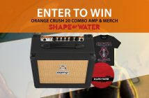 Shape Of Water - Orange Crush 20 Amp Giveaway