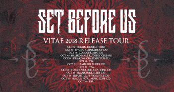 Set Before Us Vitae 2018 Release Tour
