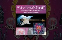 SiXforNinE Axxion guitar giveaway