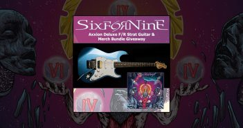 SiXforNinE Axxion guitar giveaway