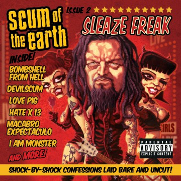 Sleaze Freak - Scum of the Earth