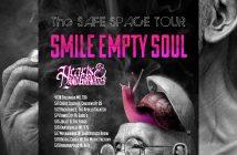Smile Empty Soul Hearts & Hand Grenades Tour