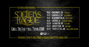 Society's Plague Call to the Fall tour 2018