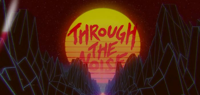 Through the Noise - Deceiver (synthwave version) music video